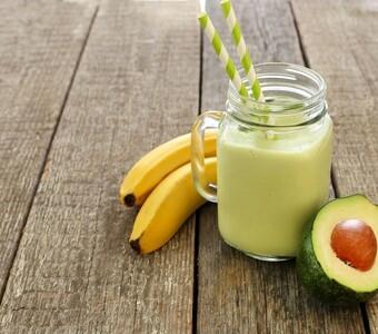 Смузи Авокадо-банановый